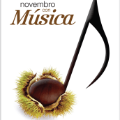 Novembro con Música 2014. Un proyecto de Publicidad, Fotografía y Diseño gráfico de Gende Estudio - 30.12.2014