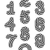 Candy numbers. Um projeto de Motion Graphics, Design gráfico e Tipografia de Sergi - 19.09.2014