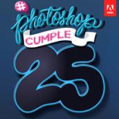 #Photoshopcumple25. Un projet de Illustration, Design graphique, T , et pographie de Henry José Fuentes Rodriguez - 18.02.2015