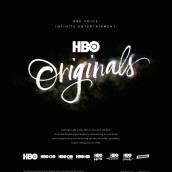 HBO Originals. A Advertising, Graphic Design, T, pograph, and Calligraph project by Oriol Miró Genovart - 02.25.2015