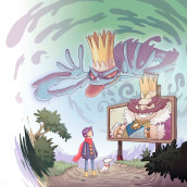Púrpura y Javi y la Corona Encantada. Un proyecto de Ilustración de Miguel Díaz Rivas - 11.03.2015