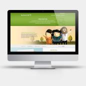 Apartado de proyectos en la web de Factorsim. A Web Design project by Victor Piferrer Mills - 01.19.2015