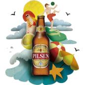 Mi versión para Pilsen. Um projeto de Ilustração de María Fernández - 28.03.2015