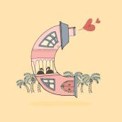 Ilustración C 36 days of type. Un proyecto de Diseño e Ilustración de Esther HIJANO MUÑOZ - 14.04.2015
