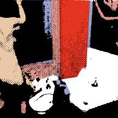 """""""PORQUERIA DE MUNDO"""" Ilustraciones para un relato de Bukowski.. Un proyecto de Dirección de arte e Ilustración de Elena Rosa Gil - 12.05.2015"""