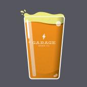 Garage Beer Co. - Ilustraciones y Posters. Un proyecto de Ilustración de Enric Adell - 30.04.2015