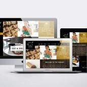 Responsive design The Ternary Restaurant. Un proyecto de UI / UX, Dirección de arte y Diseño Web de Ali Bolaño - 27.01.2015