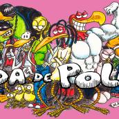 """Cómic """"¡Vida de Pollo!"""" de pág. 12 a 26. Un proyecto de Cómic de Miguel Angel Arqués Orobón - 01.06.2015"""