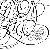 Dom Perignon & Joselito. A Calligraph project by Ricardo Rousselot Schmidt - 07.19.2006