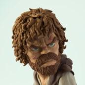 Tyrion Lannister. Un proyecto de Diseño de juguetes, Diseño de personajes y Escultura de Gustavo Vargas Tataje - 12.06.2015