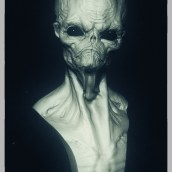 ALIEN _CHIHUAHUA. A 3D project by Guenrij Silva Veinbender - 06.15.2015