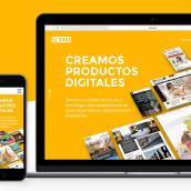 Web corporativa T4XI. Um projeto de UI / UX, Design gráfico e Web design de marta B. - 11.12.2014