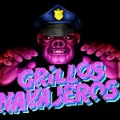 Poster animado de Grillos Navajeros. Un proyecto de Animación e Ilustración de Imanol Etxeberria - 07.07.2015