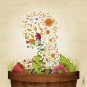 Grow your own soul. Un proyecto de Diseño, Ilustración y Dirección de arte de David van der Veen - 02.08.2015