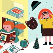 Carteles para Aula - Santillana Educación. Um projeto de Design gráfico e Ilustração de ana seixas - 06.01.2015