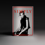 Simply the mag #4. A Kunstleitung, Verlagsdesign, Mode und Grafikdesign project by Pablo Abad - 09.02.2015
