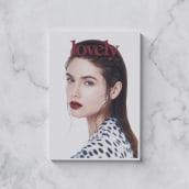 Lovely the mag #4. A Kunstleitung, Verlagsdesign, Mode und Grafikdesign project by Pablo Abad - 16.02.2015