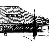 Villa del Mentidero. Un proyecto de Arquitectura e Ilustración de Javier Rubio Donzé - 01.07.2015