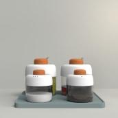 Oli Set. Un proyecto de Diseño, Cocina, Diseño industrial y Diseño de producto de Carlos Jiménez - 24.09.2015