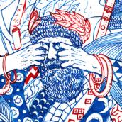 Two colors. Un proyecto de Ilustración y Bellas Artes de Nicolás Castell - 18.10.2015