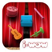 Orchestra 3.0 - Imaginarium i-wow - Android/iOS. Un proyecto de Desarrollo de software, Dirección de arte, Diseño de juegos y Diseño de juguetes de Mariano Rivas - 25.08.2014