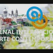 """Vídeo promocional para la """"I bienal internacional de arte contemporáneo. Agüimes 2015"""". Un proyecto de Cop, writing y Vídeo de Evelio Oliva - 26.10.2015"""