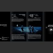"""Space Race - BFI Festival. Um projeto de Design, Design editorial e Design gráfico de Gastón """"Sasu"""" Zagursky - 29.10.2015"""