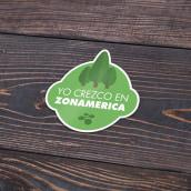Welcome Kit ZONAMERICA. Un proyecto de Ilustración, Dirección de arte y Diseño gráfico de MICAELA CARBAJAL - 06.11.2015