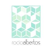Mi Proyecto del curso Motion graphics y diseño generativo - Logotipo Rocío Albertos. Un proyecto de Diseño, Animación, Br e ing e Identidad de Rocío Albertos Casas - 12.11.2015