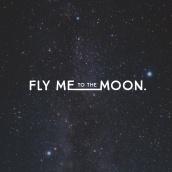 Fly Me To The Moon. Un proyecto de Dirección de arte, Br, ing e Identidad y Diseño gráfico de Isabel Salas - 25.11.2015