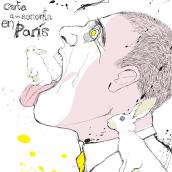 Julio Cortazar - Carta a una señorita en París. Un projet de Character Design et Illustration de AINHOA AZUMENDI GARCÍA - 28.11.2015
