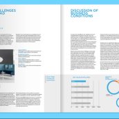 "Herman Miller - Anual Report. Um projeto de Design editorial e Design gráfico de Gastón ""Sasu"" Zagursky - 09.12.2015"