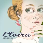 """""""Elvira"""". Un proyecto de Ilustración, Diseño de personajes y Diseño editorial de Cecilia Sánchez - 09.12.2015"""