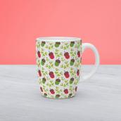 Accorn Pattern Design. Un proyecto de Diseño, Ilustración y Diseño gráfico de Zeltia Garzía - 10.12.2015