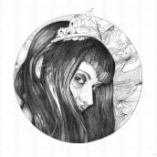 Lady. Un proyecto de Ilustración de César Marcén Arrieta - 14.12.2015