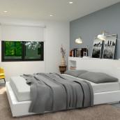 3D Render - Vivienda unifamiliar. A 3D, Interior Architecture & Interior Design project by Aranzazu Hurtado Ruiz - 12.16.2015