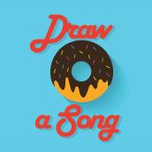 Draw a Song. Un proyecto de Diseño, Ilustración, Dirección de arte, Bellas Artes, Diseño gráfico y Caligrafía de Gianni Antonucci - 26.12.2015