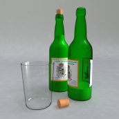 Set de sidra (Cider set). A Design, 3D, and Product Design project by leantamplan - 01.06.2016