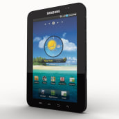 Samsung Galaxy Tab. A Design, 3D, Accessor, Design, Industrial Design, and Product Design project by leantamplan - 01.06.2016