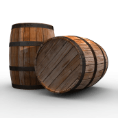 Barriles (Barrels). A Design, 3D, Accessor, Design, Industrial Design, and Product Design project by leantamplan - 01.07.2016
