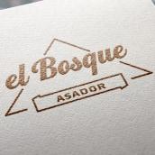 Asador El Bosque - Branding / Diseño de producto. Un proyecto de Br, ing e Identidad, Diseño gráfico, Diseño industrial y Diseño Web de David González - 14.10.2014