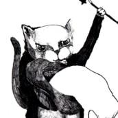 Fanzine Gatos de barrio . Um projeto de Ilustração, Artes plásticas e Comic de Jenni Alvarado - 22.01.2016