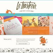 La Trastería. Un projet de Développement web , et Web Design de Marta Armada - 01.02.2016
