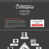 Entretipos. Un projet de Développement web , et Web Design de Marta Armada - 01.02.2016
