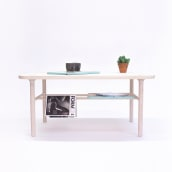 KT-1 table. Kaaja Collection. Un proyecto de Diseño, Diseño de muebles, Diseño de interiores y Diseño de producto de Carlos Jiménez - 02.02.2016