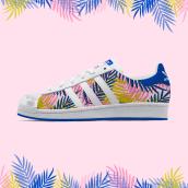 Tropical   Pattern Design. Un proyecto de Ilustración, Moda, Diseño gráfico y Diseño de calzado de Zeltia Garzía - 05.02.2016