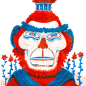 Konfuzius Institut - Año Nuevo Chino. Un proyecto de Ilustración de Cesar Tezeta - 31.12.2015