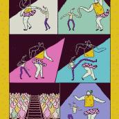 Boogie Woogie. Um projeto de Ilustração e Comic de Ana Galvañ - 22.02.2016