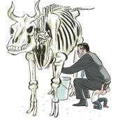 El Mundo. A Illustration project by Puño - 05.27.2009