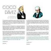 Coco Dávez para el Infiltrado, por Alba Deliz. Um projeto de Ilustração, Fotografia e Design editorial de Alba Deliz - 08.03.2016